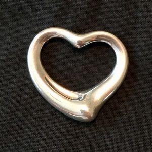 Tiffany Floating Heart Pendant Large